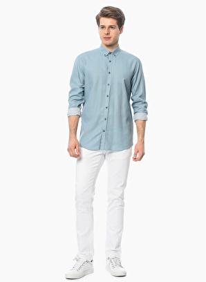 George Hogg Slim Fit Uzun Kollu Gömlek